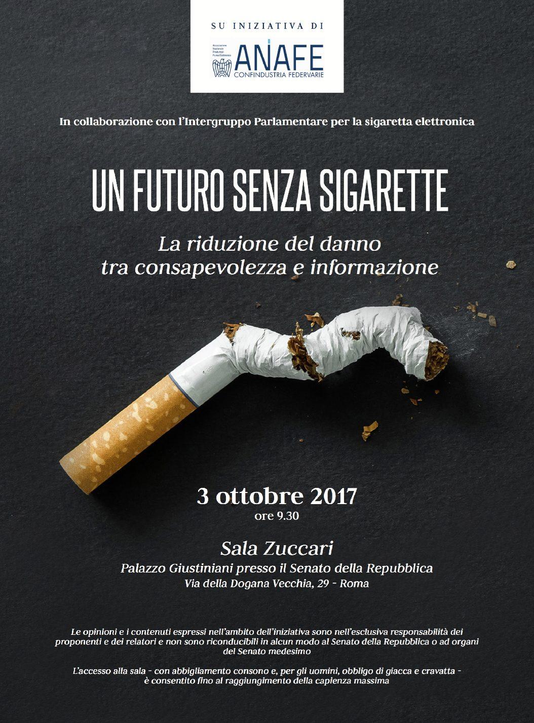 Un futuro senza sigarette